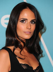 Jordana was wide eyed at the 'Instyle' event. She intensified her brown eyes with wispy lashes.
