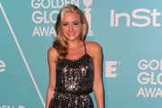 Actress/singer AJ Michalka arrives at The Hollywood Foreign Press Associationand & InStyle's Miss Golden Globe 2011 introduction on December 9, 2010 in West Hollywood, California.