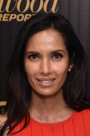 Padma Lakshmi looked simply lovely wearing this loose side-parted style at the Hollywood Reporter's 35 Most Powerful People in Media event.
