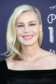 Connie Nielsen looked simply lovely with her half-pinned lob at the Hollywood Reporter's 2017 Women in Entertainment Breakfast.