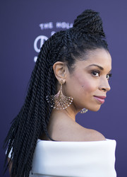 Susan Kelechi Watson rocked a head full of braids with a bun at the top when she attended the Hollywood Reporter's 2017 Women in Entertainment Breakfast.