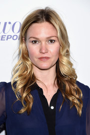 Julia Stiles wore her hair in flowing curls at the Hollywood Reporter's 35 Most Powerful People in Media.
