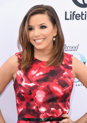Eva Longoria sported a stylish face-framing layered cut at the Hollywood Reporter's Women in Entertainment Breakfast.