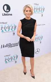 Megyn Kelly showed off her toned physique in a ruched LBD at the Hollywood Reporter's Women in Entertainment Breakfast.