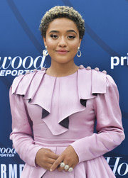 Kiersey Clemons accessorized with an eye-catching ring at the Empowerment in Entertainment event.