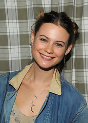 Behati Prinsloo looked fun and girly wearing her hair in knots.