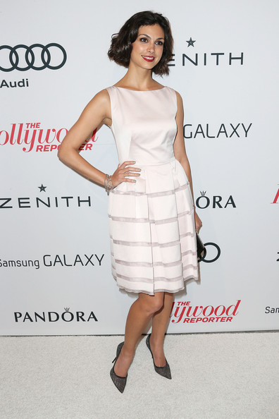 More Pics of Morena Baccarin Cocktail Dress (2 of 7) - Morena Baccarin Lookbook - StyleBistro