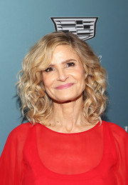 Kyra Sedgwick was gorgeously coiffed with voluminous curls at the Hollywood Reporter's Power 100 Women in Entertainment event.