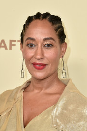 Tracee Ellis Ross rocked a cornrow updo at the Hollywood Reporter and SAG-AFTRA Emmy nominees night.