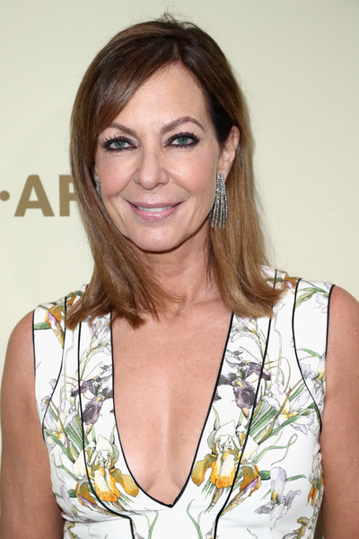 Allison Janney opted for a simple straight cut with side-swept bangs when she attended the Hollywood Reporter and SAG-AFTRA Emmy nominees night.