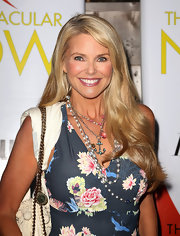 Christie Brinkley may be known for her stunning model-good looks, but her flowing blonde locks are equally as lovely and attention worthy!