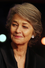 Charlotte Rampling kept it simple with this short side-parted 'do at the 2019 Berlinale International Film Festival.