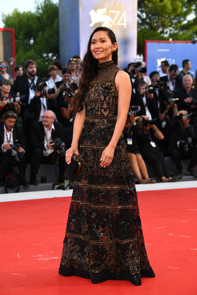 Hong Chau Beaded Dress