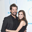 Andrew Rannells and Allison Williams