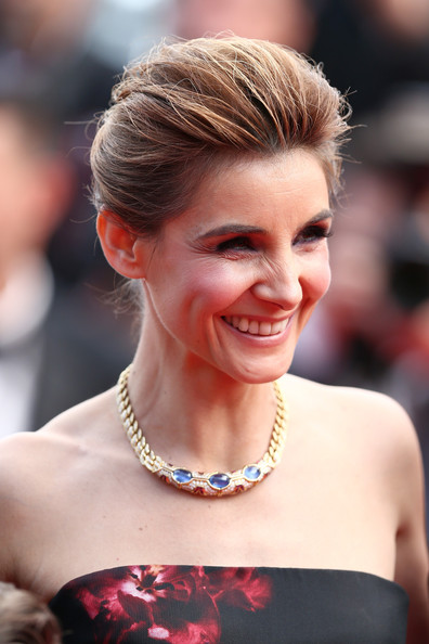 More Pics of Clotilde Courau Pompadour (4 of 17) - Clotilde Courau Lookbook - StyleBistro [how to train your dragon 2,hair,hairstyle,eyebrow,beauty,blond,chin,lip,skin,chignon,jewellery,clotilde courau,cannes,france,premiere,cannes film festival]