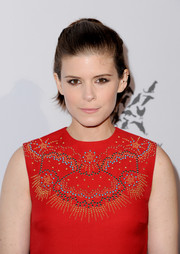 Kate Mara styled her short hair into a simple half-up 'do for the Humane Society of the United States' To The Rescue Gala.