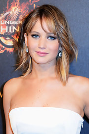 Jennifer Lawrence's dirty blonde waves looked totally natural at 'The Hunger Games' photo call in Cannes.