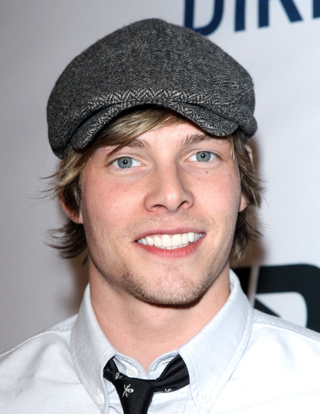 Hunter Parrish Newsboy Cap