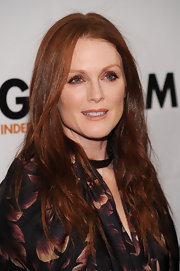 Julianne Moore flaunted her radiant red tresses while attending the Gotham Independent Film  Awards.