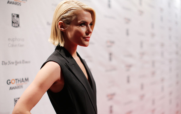More Pics of Rachael Taylor Bob (1 of 13) - Short Hairstyles Lookbook - StyleBistro [red carpet,hair,shoulder,blond,hairstyle,beauty,fashion,arm,joint,dress,neck,rachael taylor,new york city,cipriani wall street,ifp,annual gotham independent film awards]