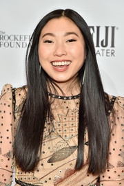 Awkwafina showed off a sleek straight 'do at the 2019 Gotham Independent Film Awards.
