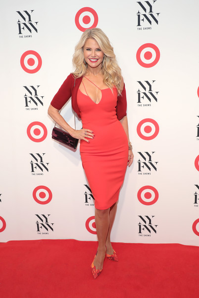 Christie Brinkley at Target + IMG New York Fashion Week Kick-Off Event