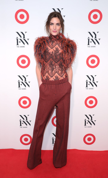 Hilary Rhoda at Target + IMG New York Fashion Week Kick-Off Event
