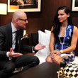 Georges Kern and Adriana Lima