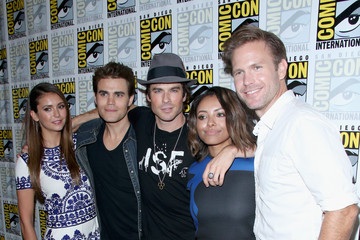 "Ian Somerhalder Nina Dobrev ""The Vampire Diaries"" Press Line - Comic-Con International 2014"