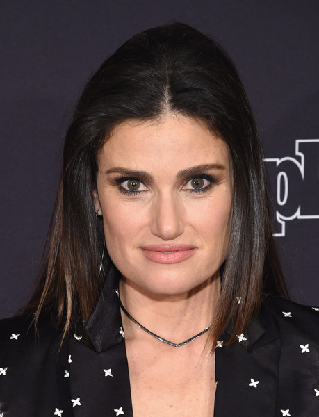 Idina Menzel Looks  StyleBistro - Crown Hairstyle