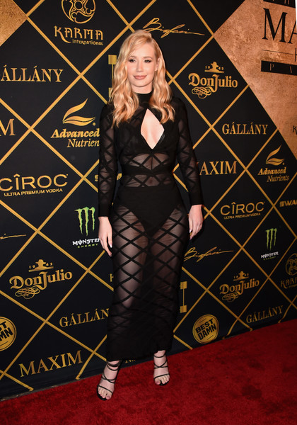 Iggy Azalea Sheer Dress