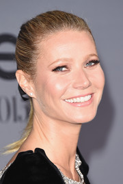 Gwyneth Paltrow brushed her locks back into a tight ponytail for the InStyle Awards.