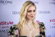 Chiara Ferragni looked gorgeous with her long wavy 'do at the InStyle Meets Lancome Paris x Chiara Ferragni event.