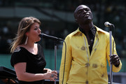 Kelly Clarkson and Seal Photo