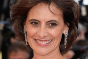 Ines de la Fressange Dangling Diamond Earrings
