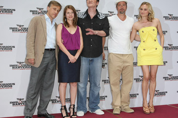 Diane Kruger Melanie Laurent Inglourious Basterds Photocall