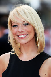 Liz Mcclarnon kept it classic with a sleek shoulder-length bob at the premiere of 'Inglourious Basterds.'
