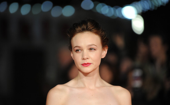 More Pics of Carey Mulligan Loose Bun (1 of 59) - Loose Bun Lookbook - StyleBistro