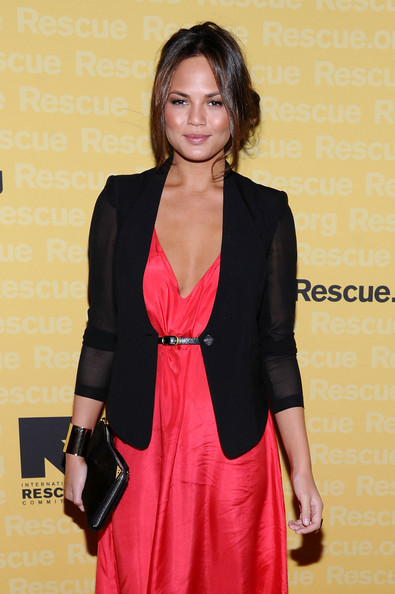 More Pics of Chrissy Teigen Blazer (1 of 11) - Chrissy Teigen Lookbook - StyleBistro