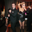 John Travolta and  Lady Gaga in (Alexandre Vauthier Haute Couture)
