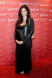 Shermine Shahrivar sported an all-black look while at the 'Interview' party in Berlin.