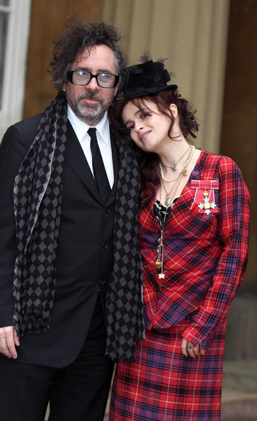 More Pics of Helena Bonham Carter Skirt Suit (1 of 8) - Helena Bonham Carter Lookbook - StyleBistro