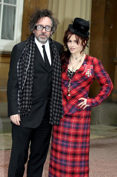 More Pics of Helena Bonham Carter Red Nail Polish (6 of 8) - Helena Bonham Carter Lookbook - StyleBistro