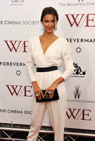 Irina Shayk Envelope Clutch