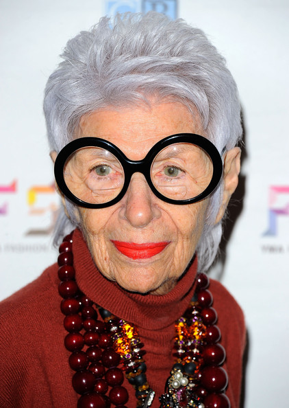 Iris Apfel Boy Cut [eyewear,glasses,hair,face,eyebrow,head,lip,forehead,hairstyle,vision care,iris apfel,yma fashion scholarship fund,geoffrey beene national scholarship awards,new york city,waldorf astoria hotel,dinner,geoffrey beene national scholarship awards dinner]