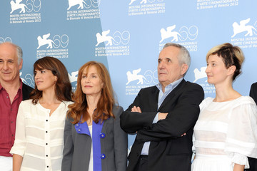 "Isabelle Huppert Alba Rohrwacher ""Bella Addormentata"" Photocall - The 69th Venice Film Festival"