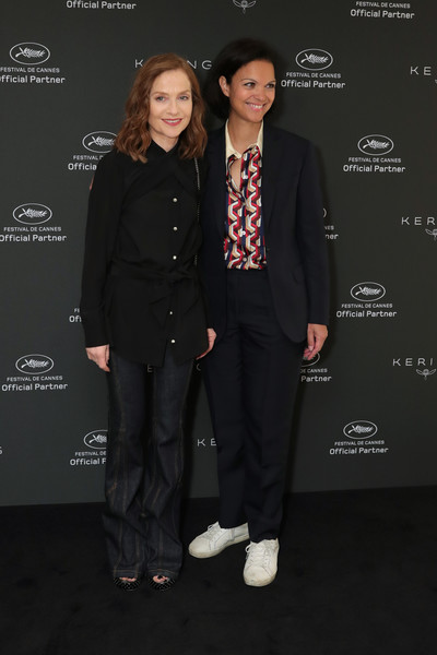 Isabelle Huppert Flare Jeans