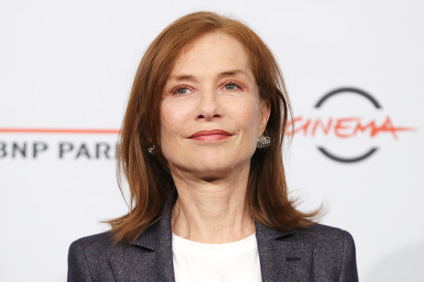 More Pics of Isabelle Huppert Blazer (1 of 18) - Outerwear Lookbook - StyleBistro [hair,face,cheek,hairstyle,chin,lip,white-collar worker,businessperson,long hair,spokesperson,isabelle huppert photocall - 13th rome film fest,isabelle huppert,photocall,rome,italy,auditorium parco della musica,rome film fest]