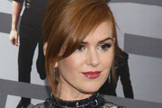 Isla Fisher Metallic Eyeshadow