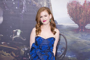 Isla Fisher Strapless Dress